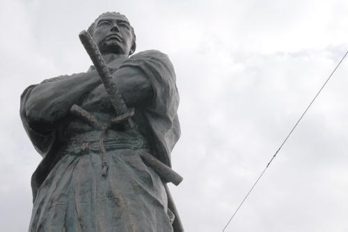 長崎龍馬通り / 生活感ただよう観光地