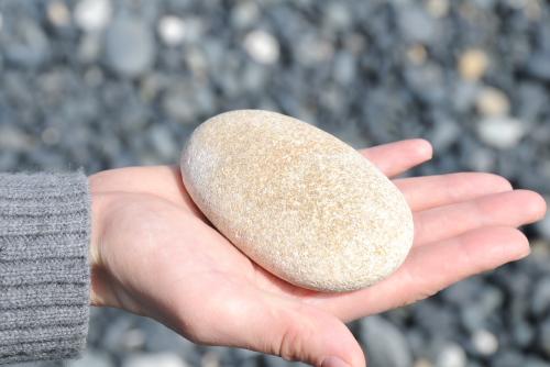 太田海岸 / すべすべ石の浜辺