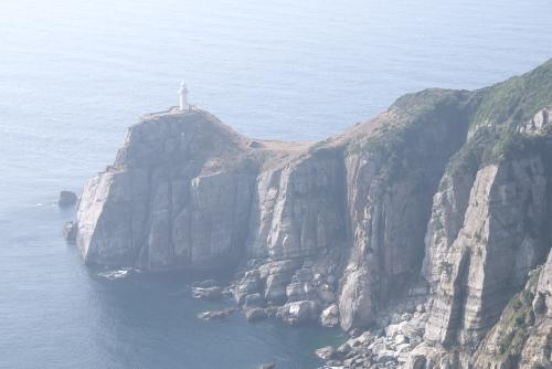 大瀬崎灯台 / 断崖絶壁まで歩け