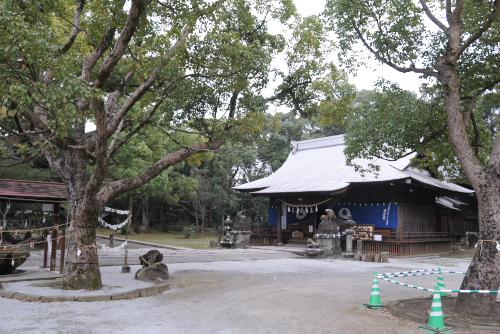 本明川、諫早神社 / ぶらり諫早観光