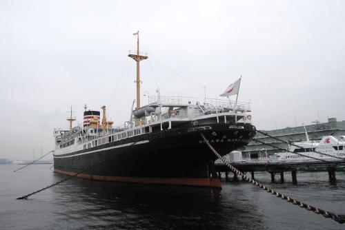 日本郵船氷川丸 / よく働き、よく愛された船