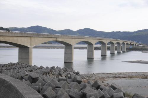 黒潮ラインを走る / 仁淀川河口大橋、宇佐大橋