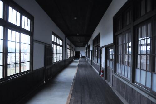 宇和米博物館(旧宇和町小学校) / 日本一長い木造廊下