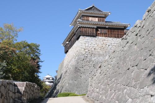 松山城 / 山の上の別世界