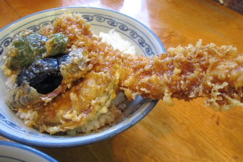 天ぷら「天成」 / 久々の穴子天どん