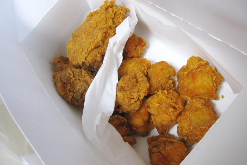 KFC 激辛ハバネロボンレス / ふつうに辛い