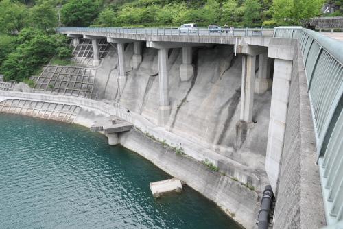 浦山ダム / 8年ぶりの再訪、堤体見学