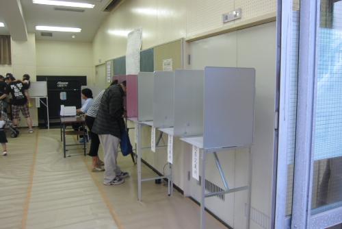 コミュニティセンター / 参院選に投票してきた