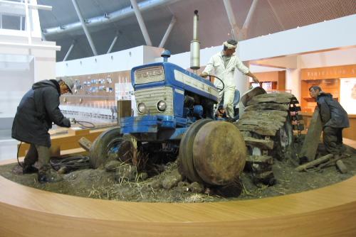 大潟村干拓博物館 / ここは日本で2番目に大きな湖だった