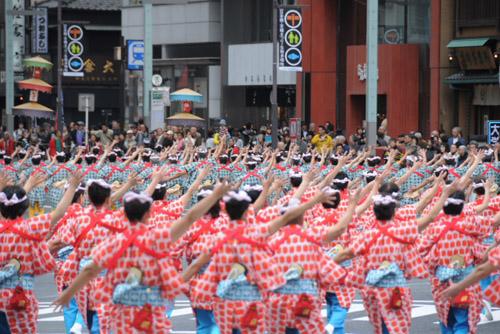 第38回日本橋・京橋まつり「大江戸活粋パレード」 / 中央区まるごとミュージアム