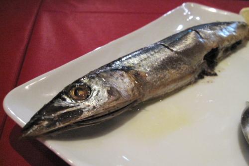 神田トラットリア Jugemu / ふたたび秋刀魚のコンフィを
