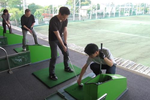 武蔵グランドゴルフ / 2度目のゴルフ練習
