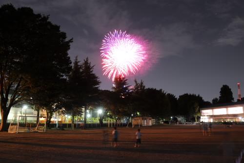 白子諏訪神社大祭 / 見過ごしていた近所の花火