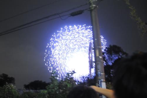 朝霞市民まつり 彩夏祭 / 自転車で駆けつけるが...