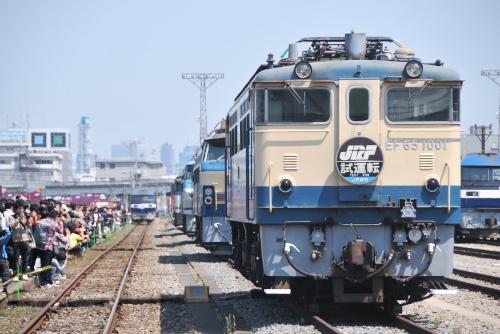 のどかな一般公開 / 東京貨物ターミナル駅40周年記念フェスティバル