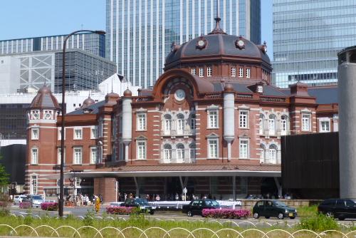 復原後の赤レンガ駅舎を見る / 東京駅散歩