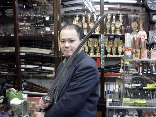 日本刀が欲しい