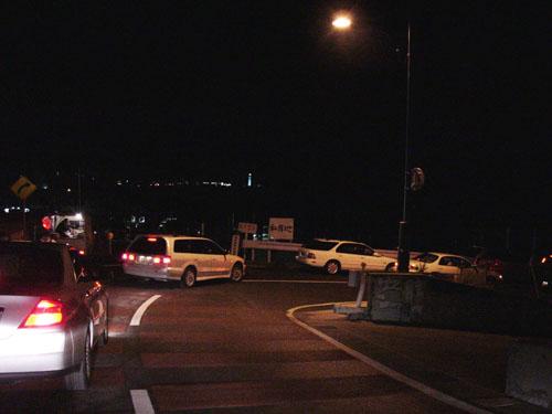 犬吠埼:大渋滞