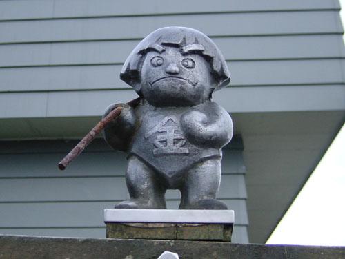 金時山のシンボル:金太郎