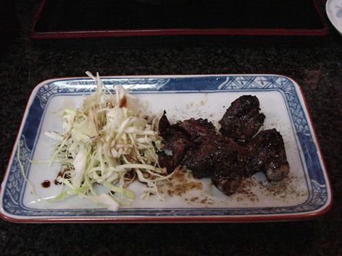 伏見稲荷:雀の串焼き