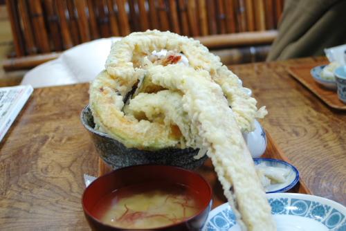 天ぷら大漁:特製天丼