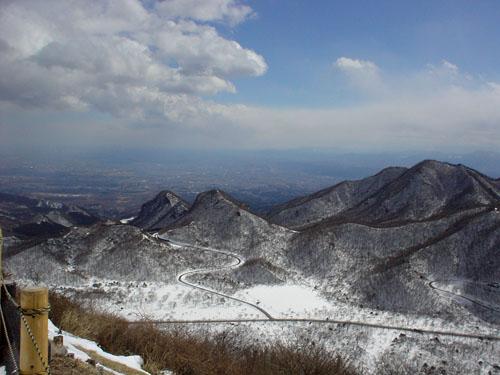 榛名富士からの眺め