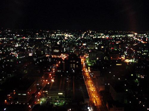群馬県庁:夜景