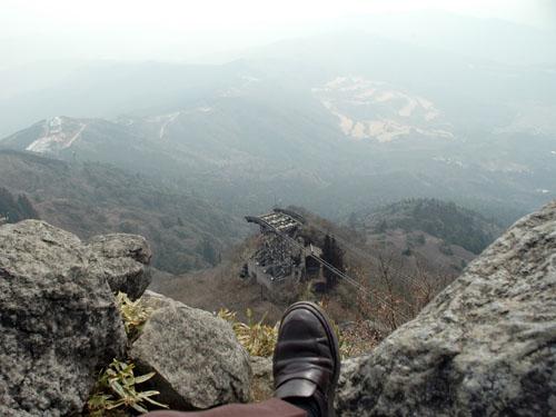 筑波山:山頂から眺め