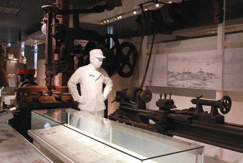 日本最初の工作機械には感動した
