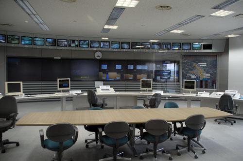 『ウルトラマン・コスモス』では司令室となっていた操作室