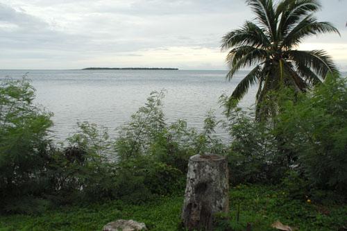 あれがココス島だ
