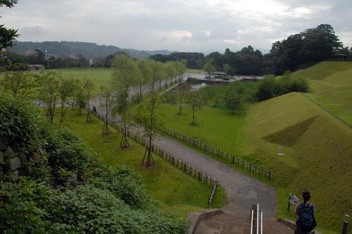 金沢城公園は兼六園より広い
