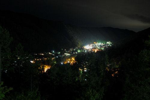 城下町の夜景