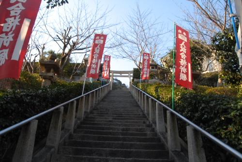 北野天満神社への階段