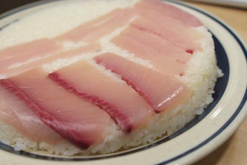 かんぱちの押し寿司