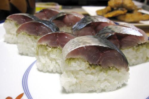 はじめてのしめ鯖寿司