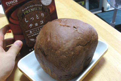 絶妙の商品コンセプト / [クオカ(cuoca)] プレミアム食パンミックス しっとりチョコ