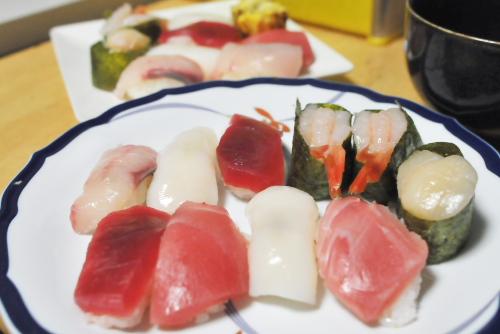 握り寿司の悩み / 料理は時間と金の無駄か