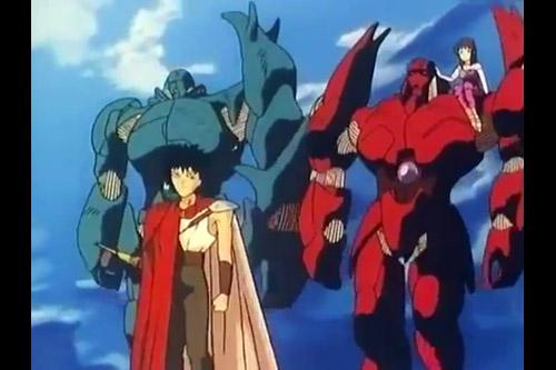 魍魎戦記マダラ (OVA全4話)