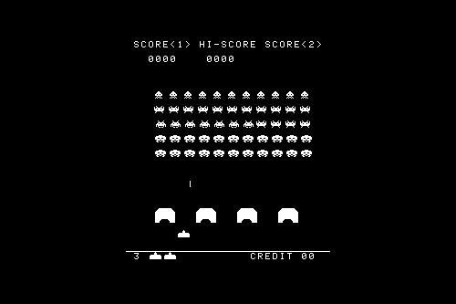 スペースインベーダー / Space Invaders (AC)