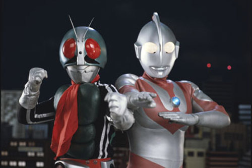 Ultraman vs Masked Rider
