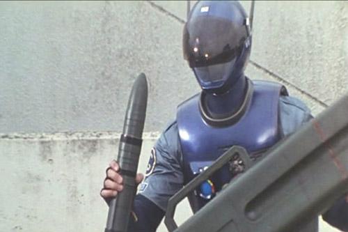 Blue SWAT The Movie Kick Off! New Hero