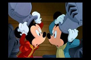ミッキーの王子と少年