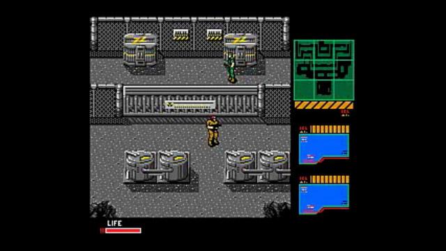 メタルギア2 ソリッドスネーク (MSX2)