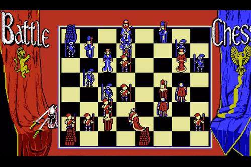 バトルチェス / Battle Chess (PC98)