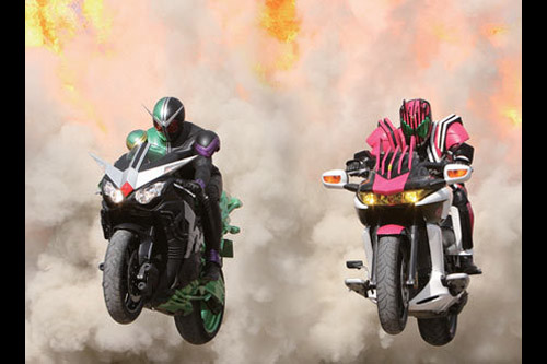 Kamen Rider W and Decade Movie War 2010