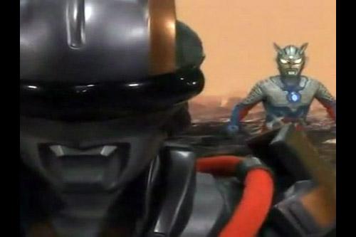 Ultraman ZERO: Gekitotsu! Techtor Gear Black