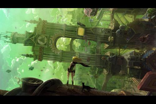 GRAVITY DAZE / 重力的眩暈:上層への帰還において彼女の内宇宙に生じた摂動 (PS4)