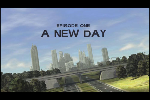 The Walking Dead #1 A New Day (PC)