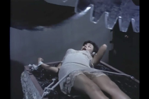 死刑台の美女 / 江戸川乱歩の美女シリーズ#03 『悪魔の紋章』より